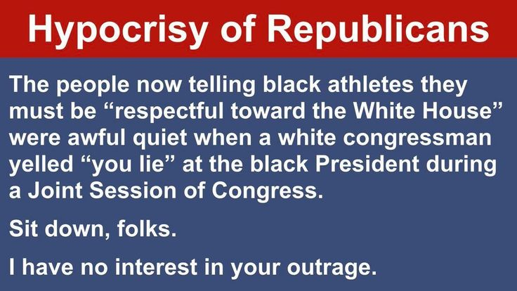 Republican Hypocrisy needs to be studied and declared a disease. It's definitely contagious. #DemForce #TakeAKnee