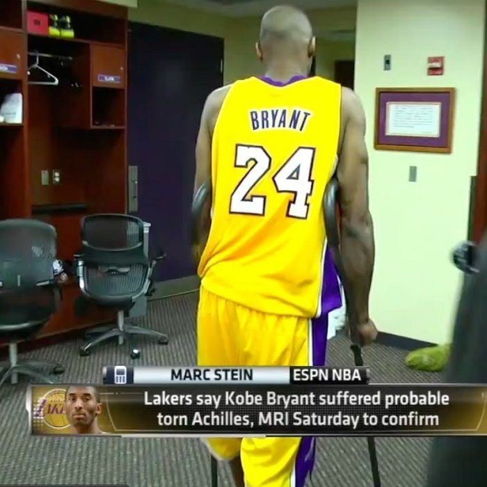 Professionals Love millenial Crutches because of professional design, comfort and durability - Kobe Bryant in the Locker Room, with In-Motion Crutches. . . #Crutch #Professional #Millennialmedical #Bestcrutch #Bestcrutches #Sports #Utah #Bryant #kobebryant #Loganutah #Injury #Sportsman #Utah