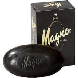 Magno la Toja black glycerin soap from Spain