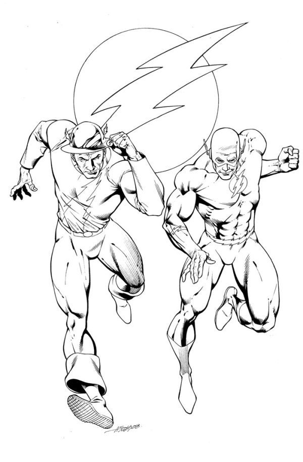 The Flash Coloring Pages Collection Superhero Coloring Pages Coloring Pages Coloring Pages Nature