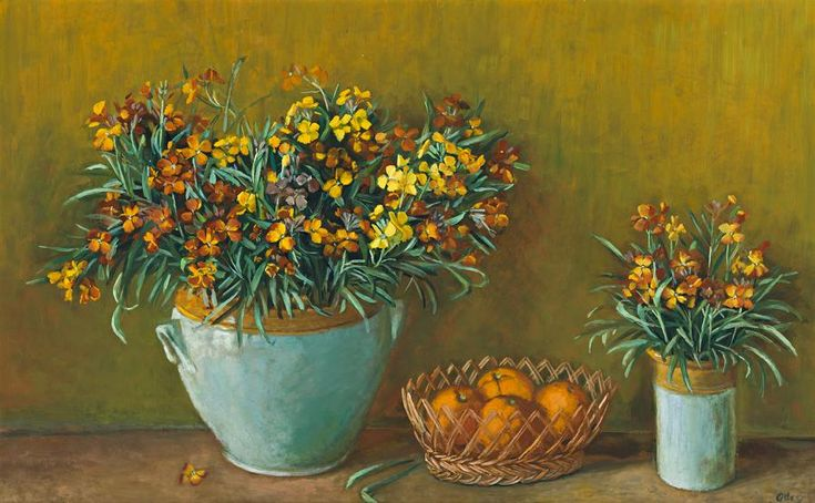 Margaret Olley - yellow