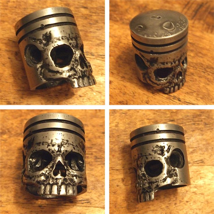 how to make a metal skull