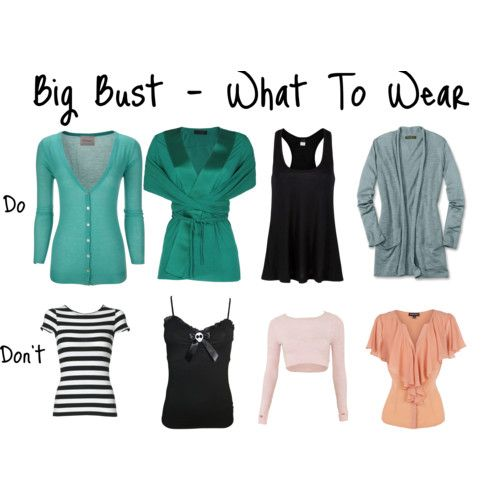 Image detail for -Big Bust – What To Wear by Aileen Lane featuring racerback tank ...