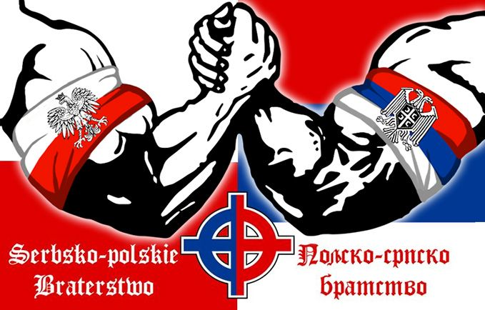Serbia Polland Polska Srbija Bratstvo Brotherhood Braterstwo Slava Slavic Union