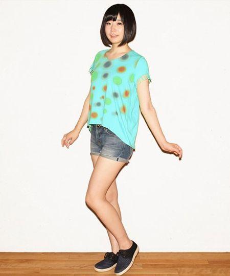 でんぱ組.inc × アトモス ガールズTシャツ 夢眠ねむver ¥9,240