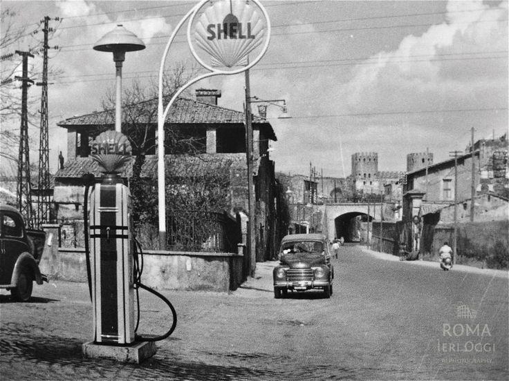 Via Appia Antica (1950 ca)Roma Ieri Oggi   Roma Ieri Oggi