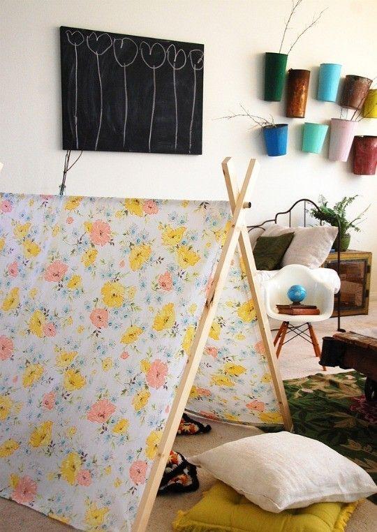 zwei geneigten Zelt einfachen Bedroom Interior Design Ideen Featuring spielen Zelten für Kinder passen alle modernen Heim-Homesthetics (18)