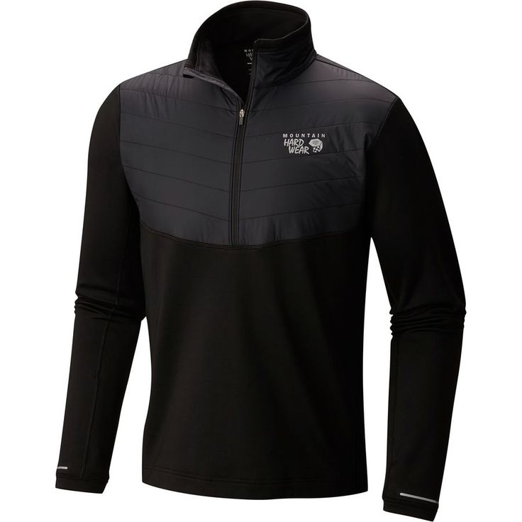 Mountain Hardwear - 32 Degree Insulated Fleece Jacket -1/2-Zip - Men's - Black