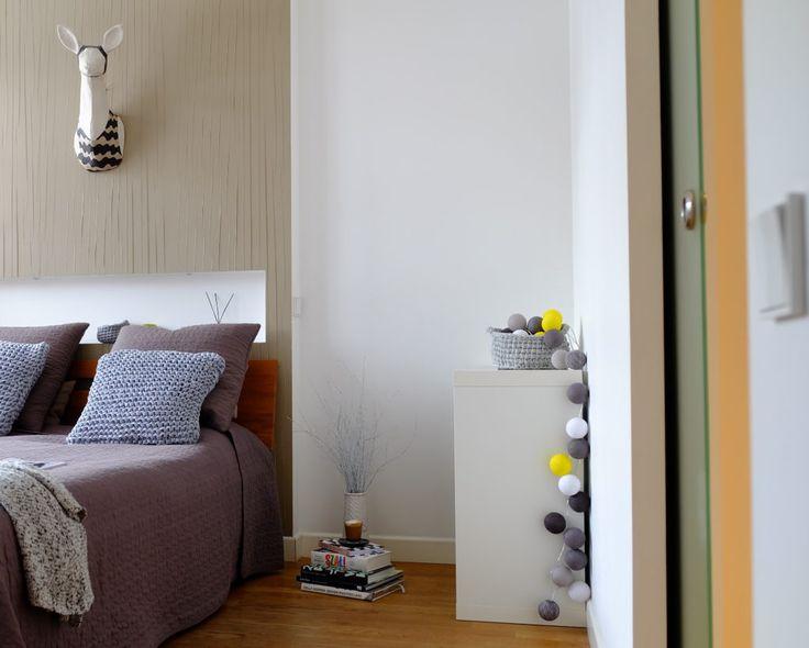 Sypialnia #bedroom #bed @cottonballlight  @papersculptureu #pillows @cubeo1601 #pled @bedroom #poduszki #sypialnia #tryc @jacektryc #interiors #interiordesign #architekt