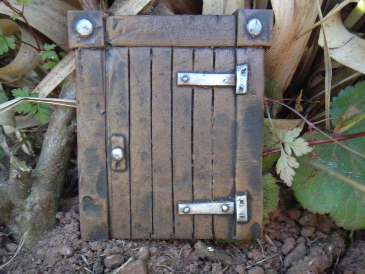 Hobbit Tür (Magisches Tor) Ideal für Garten und Bäume - Garten Deko: Amazon.de: Garten