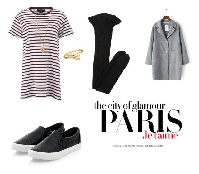 """Cloudy day"" by almaxran ❤ liked on Polyvore featuring The Fifth Label, Yves Saint Laurent, Pamela Love, Bling Jewelry and H&M"