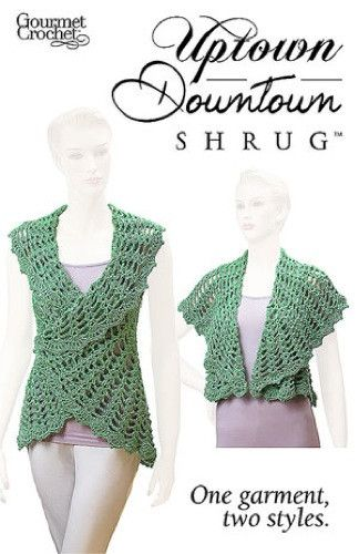 Maggie's Crochet · Uptown Downtown Shrug Pattern