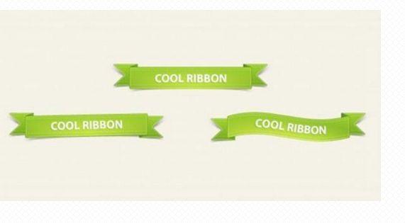 10 Beautiful and Stylish Ribbons PSD Files