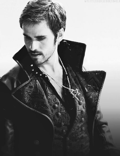 just a teeensy bit in love with hook (colin o'donoghue). but only a little. ;)