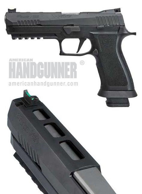 ONLINE EXCLUSIVE: SIG SAUER P320 X-5 Full-Size 9mm   By Tank Hoover   What do you get when you mesh Swiss-like precision with German engineering?   © American Handgunner 2017
