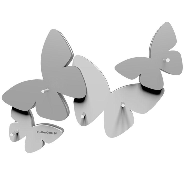 Llavero Butterfly de CalleaDesign. Estructura en madera DM a elegir entre distintos colores.