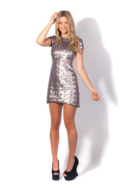 Nixie Oyster Dress, $350AUD