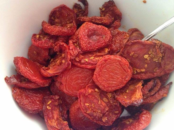Lekker eten met Marlon: Gedroogde tomaatjes uit de oven