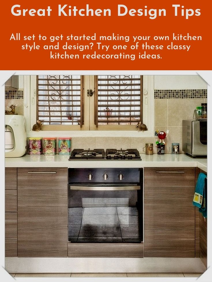 Easy kitchen design ideas Are you redesigning your kitchen? Turn