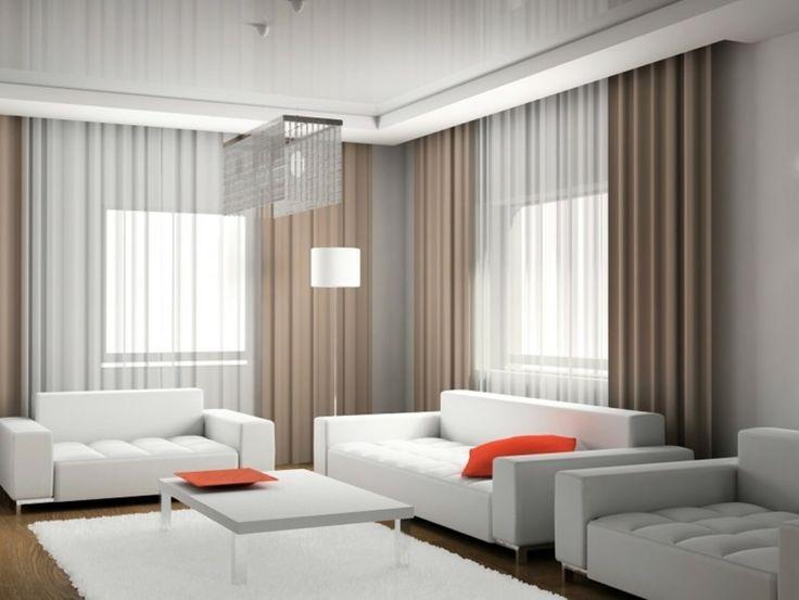 Les 25 meilleures id es de la cat gorie rideaux salon moderne sur pinterest rideaux de maison - Rideaux baie vitree moderne ...