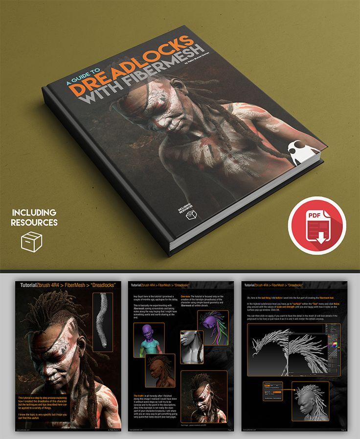Creating Dreadlocks With Fibermesh for Free #onselz