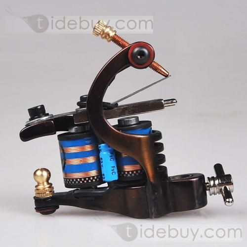 Complete Set Professional Tattoo Kit 2 Machine Needles 40 Ink and Power Supply : Tidebuy.com