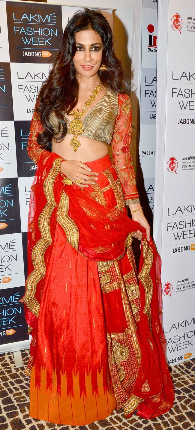 Chitrangada Singh at the Lakme Fashion Week Winter/Festive 2014 Day 3.