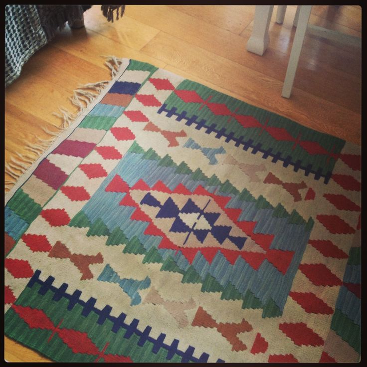 A kiln rug from the Wimbledon Car boot sale for £22!