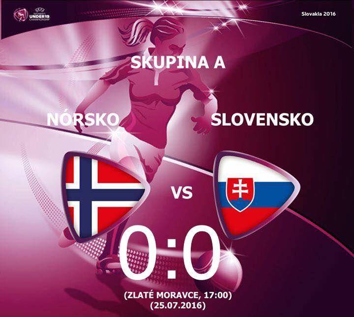 Nórsko - Slovensko