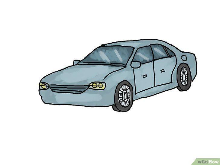 Wow 30 Gambar Mobil Kartun Dari Samping 4 Cara Untuk Menggambar Mobil Wikihow Download Sepatu Sneakers Casual Mo Draw Cars Car Drawings Simple Drawing Ideas