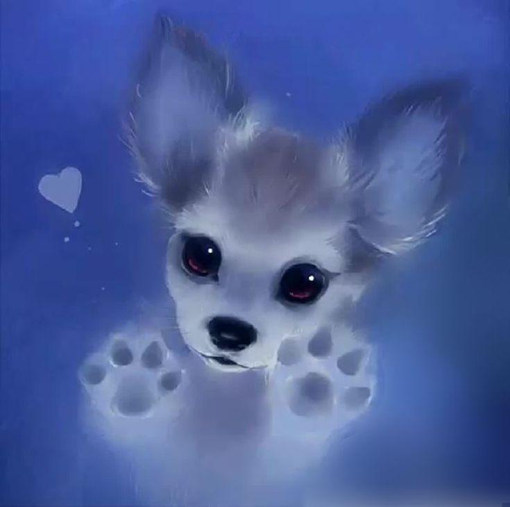 картинки щенки милые и красивые рисунки