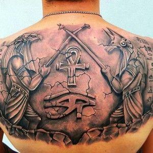 tatuaje egipcio akhn