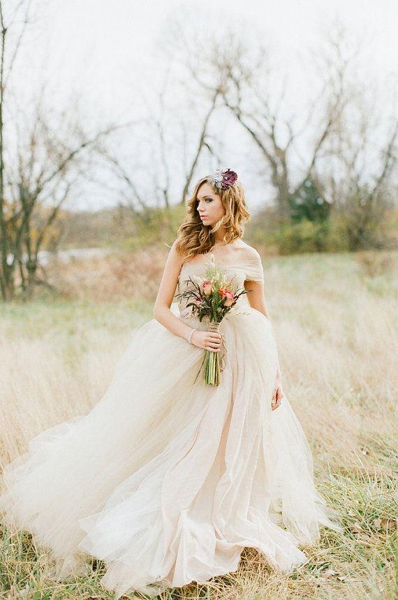 Tulle #cute #wedding #dress