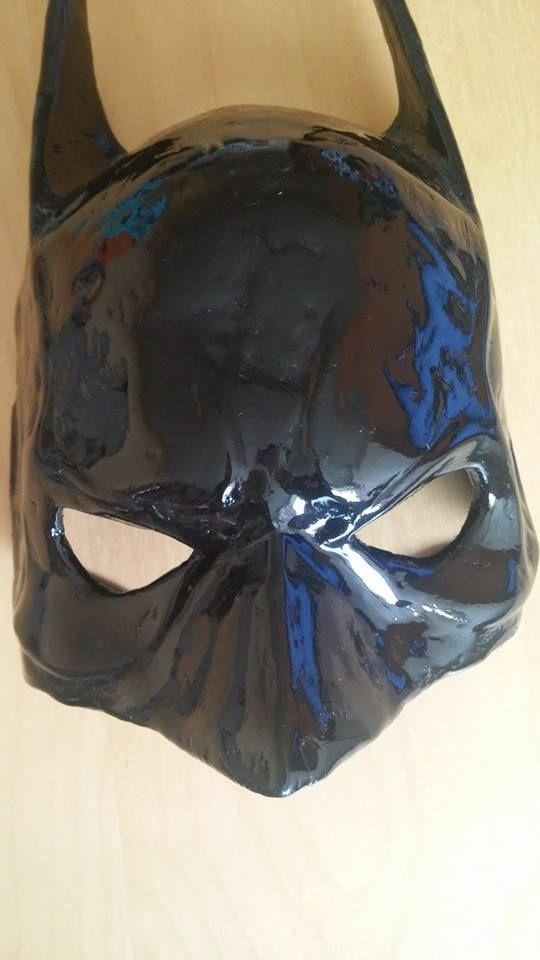 Batman mask. Maska superbohatera, dla Twojego mężczyzny. Do kupienia na mojej stronie :)