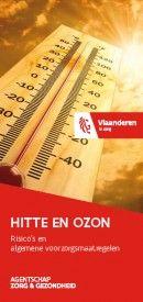 Hitte en Ozon?  Hoe ga je ermee om?  Op deze pagina vind je nuttige tips om een hittegolf gezond door te komen.