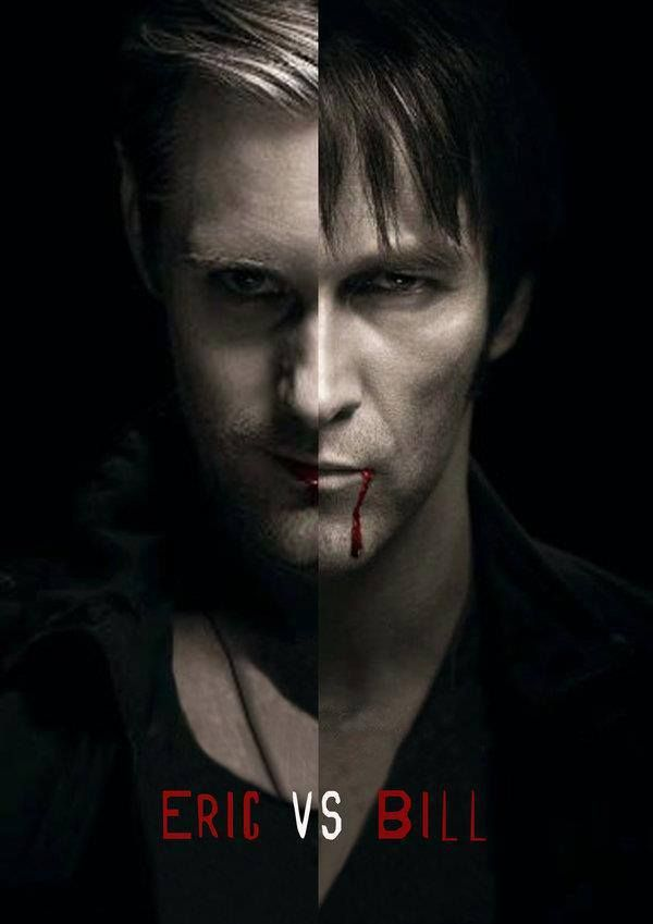 Eric vs Bill - True Blood