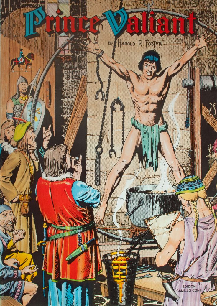 All clear, comic image prince strip valiant
