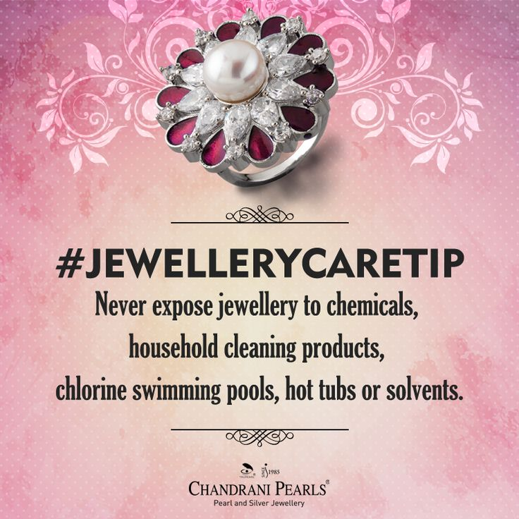 Every piece of jewellery is precious. Take time to take care of your jewellery. Here's a handy #JewelleryCareTip: Do protect your jewellery, especially pearls, from vinegar, alcohol, lemon juice, detergents and chlorinated water. These substances may cause irreparable damage, loss of lustre and wear out your jewellery. #chandranipearls #pearljewellery #pearls #goldjewellery #silverjewellery #jewellerycaretip #tips #pearlup
