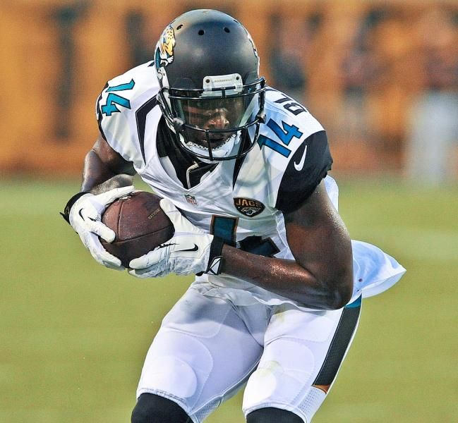 Jacksonville Jaguars wide receiver Justin Blackmon