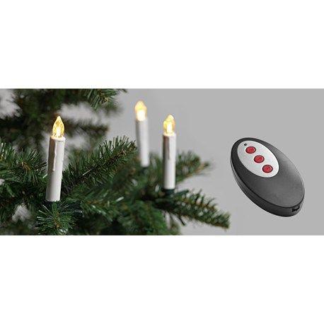 Trådlösa julgransljus LED 10-pk butik jula i kallered tæt på gøteborg på vej til ullared