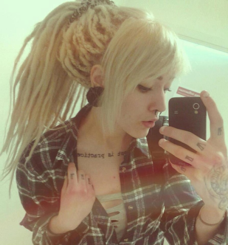 I will forever wish I could pull off dreads. :: Shop DreadStop.Com for Premium Leather Dread Cuff #dreadstop