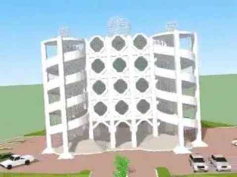 Disain Masjid Type PS-03MS (Masjid Shelter Tsunami)