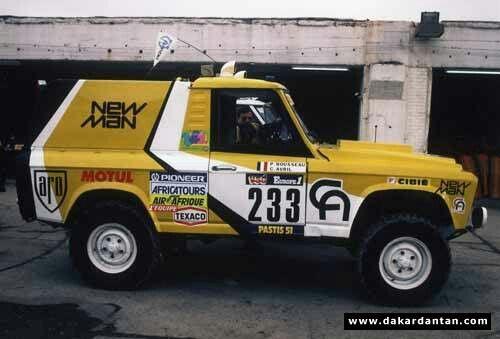 Aro 24 Proto - Paris Dakar 1984