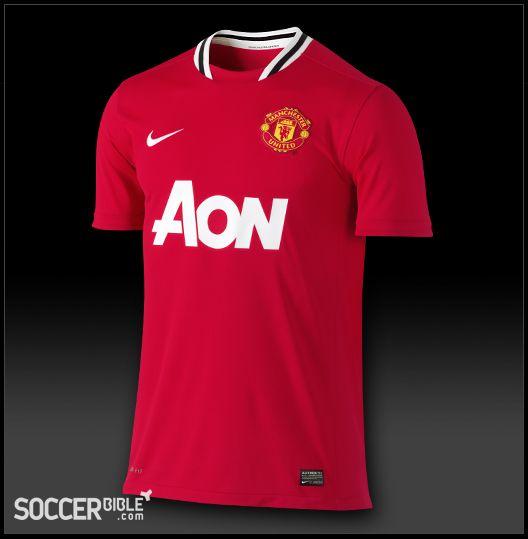 Manchester United Home Kit 2011-2012 - Nike Football Shirt