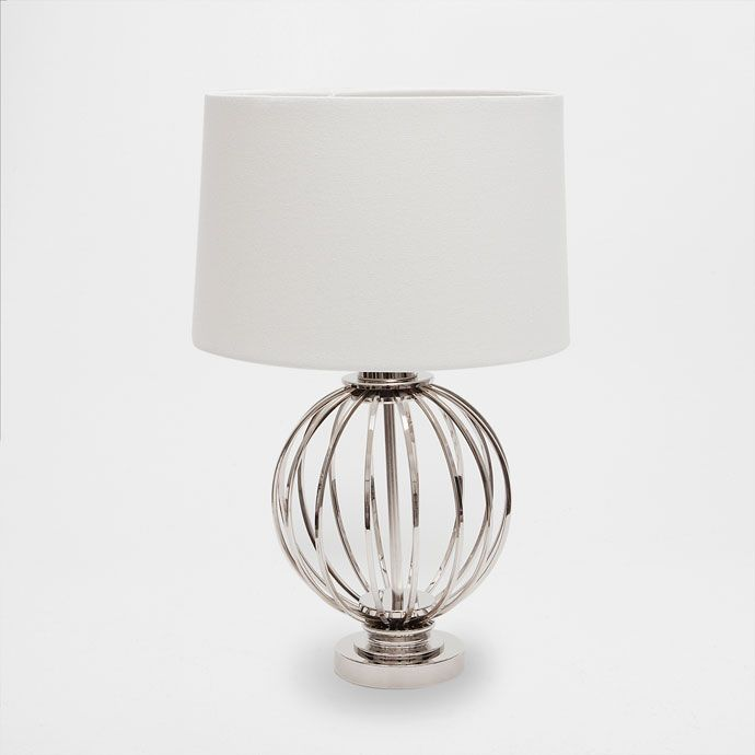 Lamp with an iron sphere base - LAMPS - DECORATION | Zara Home Sverige / Sweden