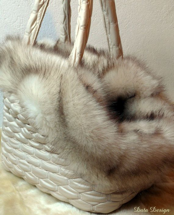 Simple Beauty Winter Dog Carrier Bag Luxury by DataDesignBoutique