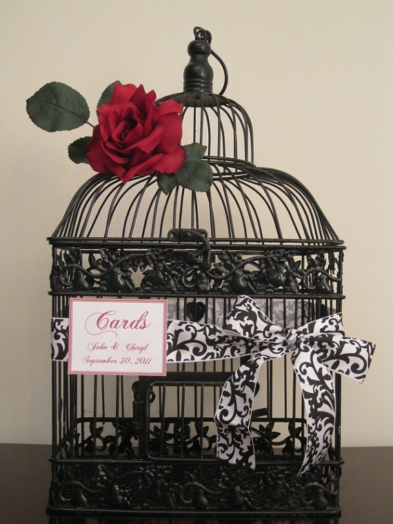 106 best Card Boxes images on Pinterest | Wedding ideas, Birdcage ...