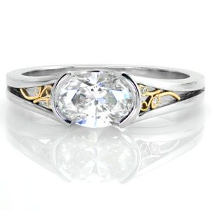 dreams split shank engagement rings minnesota and oval