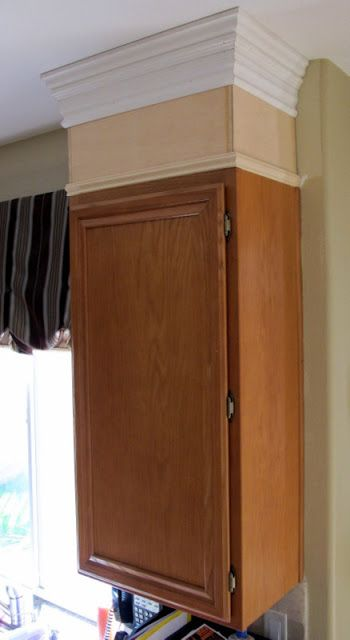 25 best ideas about oak cabinet kitchen on pinterest for Oak crown molding for kitchen cabinets