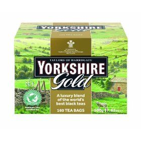 Taylors of Harrogate, Yorkshire Gold Tea, 160-Count Tea Bags #Tea #coffe #Yummy #chef